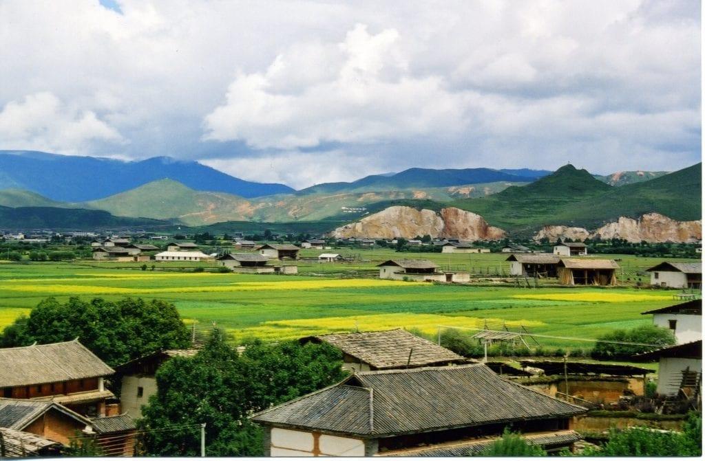 Landscape near Shangri-la, Yunnan