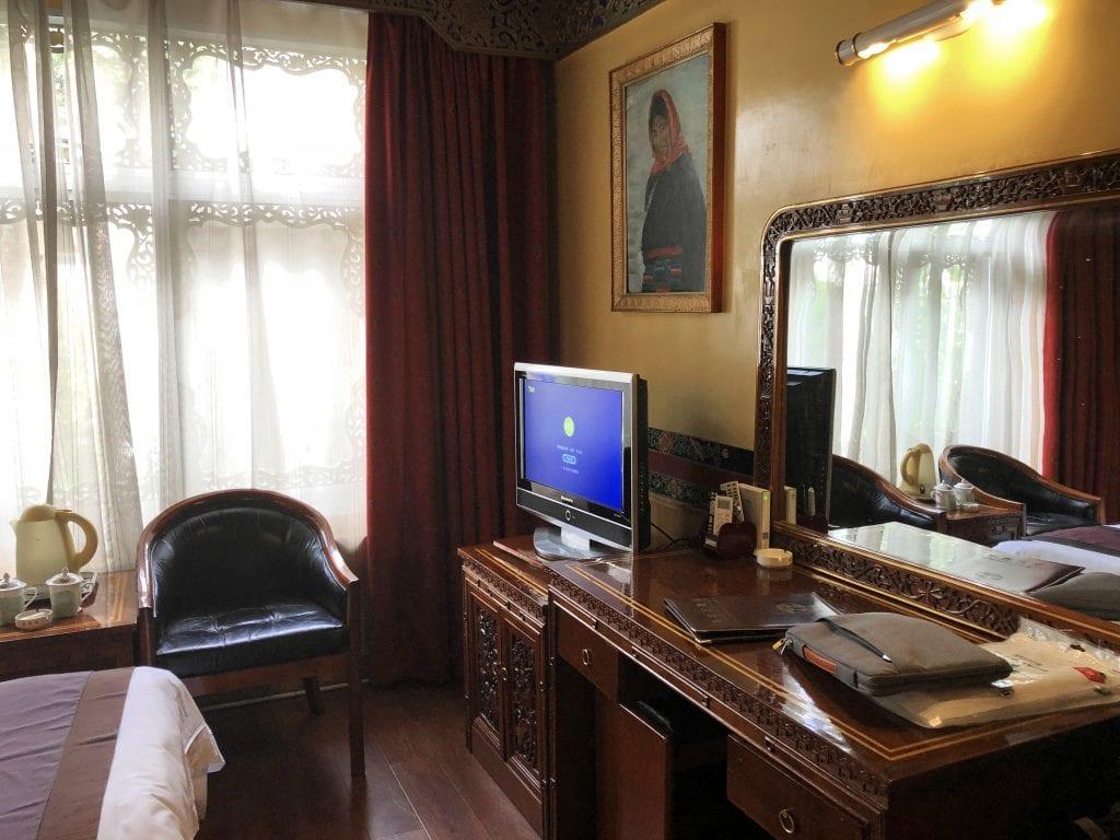 Room in Yak hotel, Lhasa, Tibet