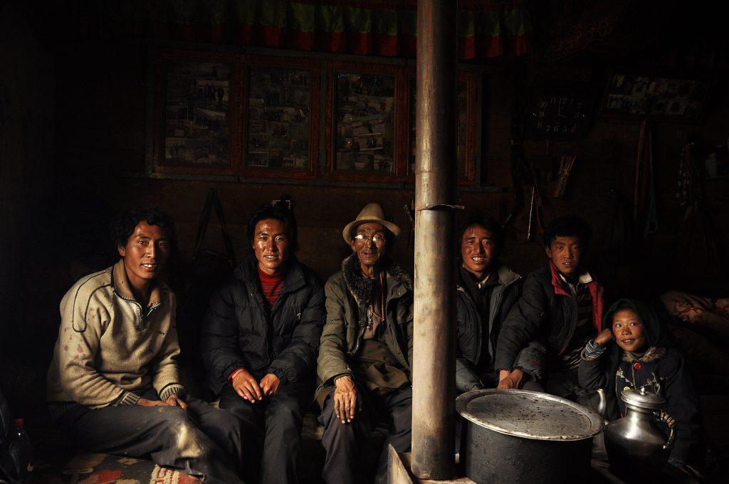 Tibetan farmer's house