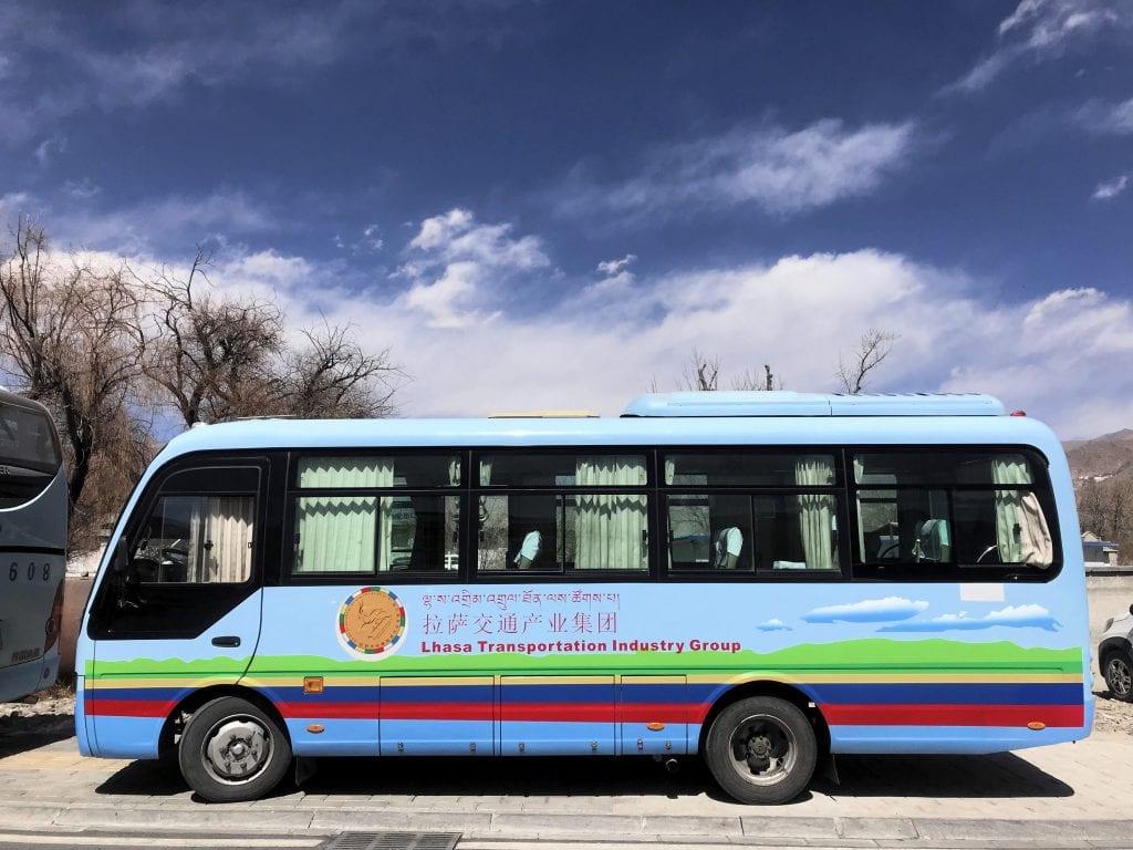 Tourist transportation in Tibet