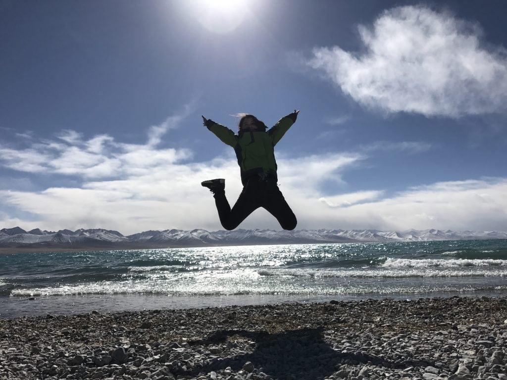 Visiting Namtso lake in Tibet