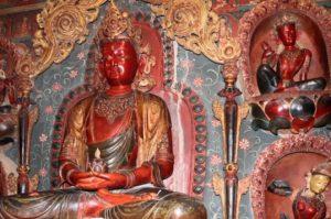 Five Tathagatas Chapel in Pelkor Choede monastery, Gyantse