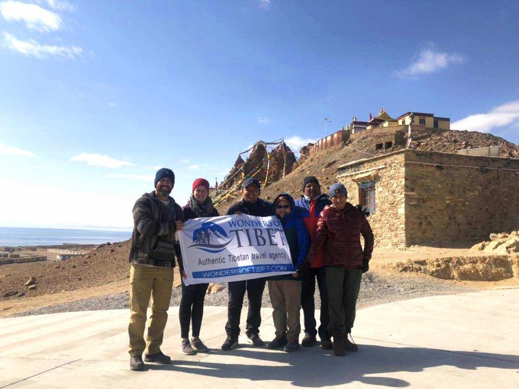 Group visiting Western Tibet