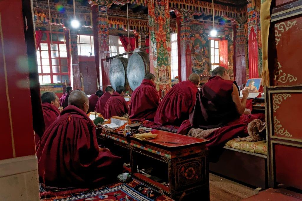 Inside Chimpu nunnery