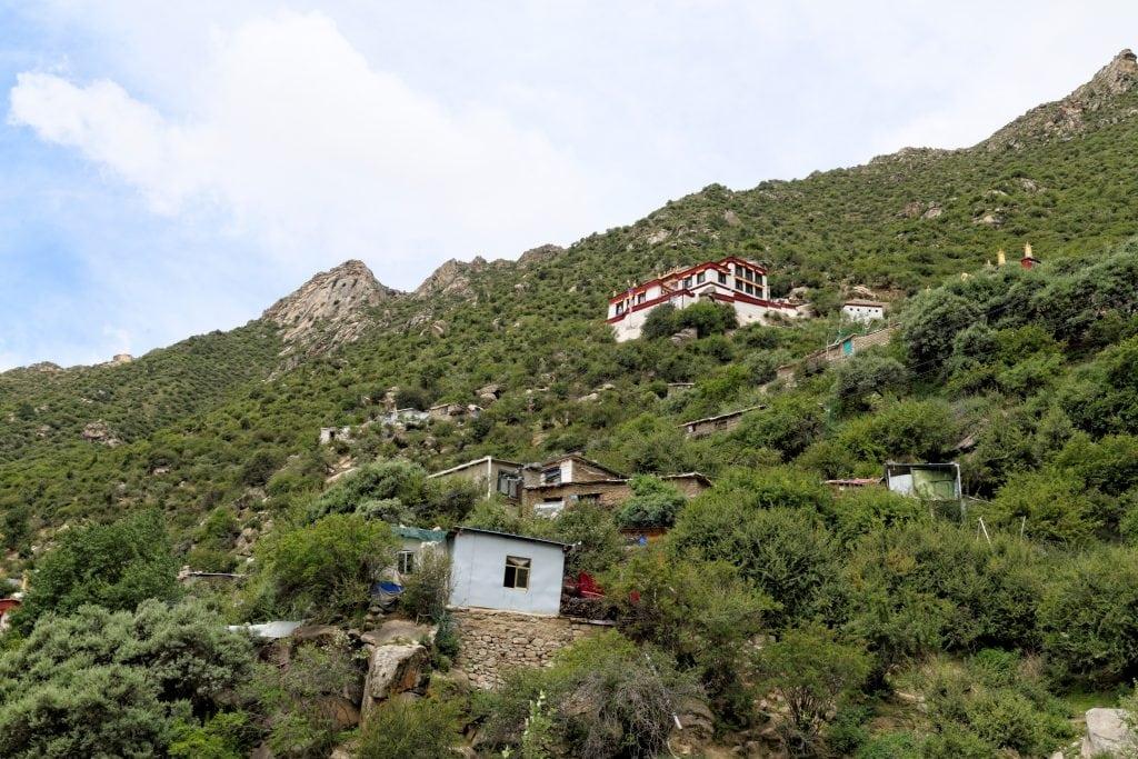 View on Drakman Keutsang in Chimpu