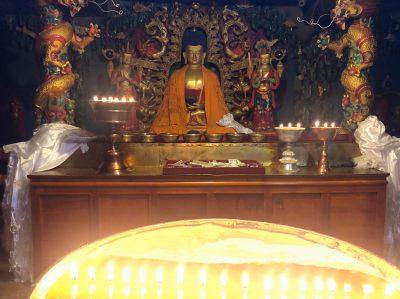 Buddha Statue in Shalu monastery