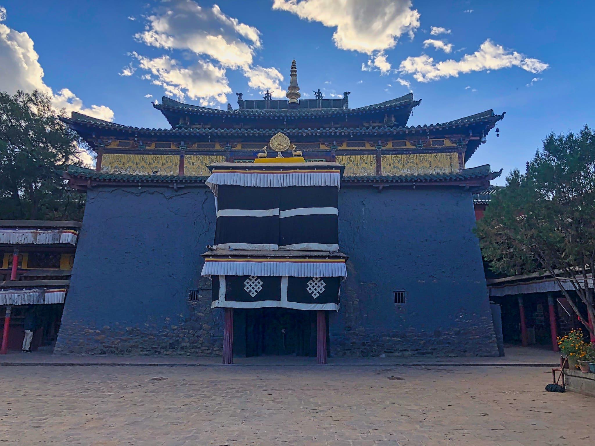 Serkhang Temple in Shalu Monastery