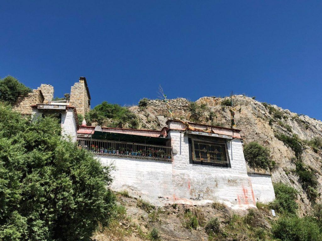 Drubthub Nunnery on Chak Pori Hill