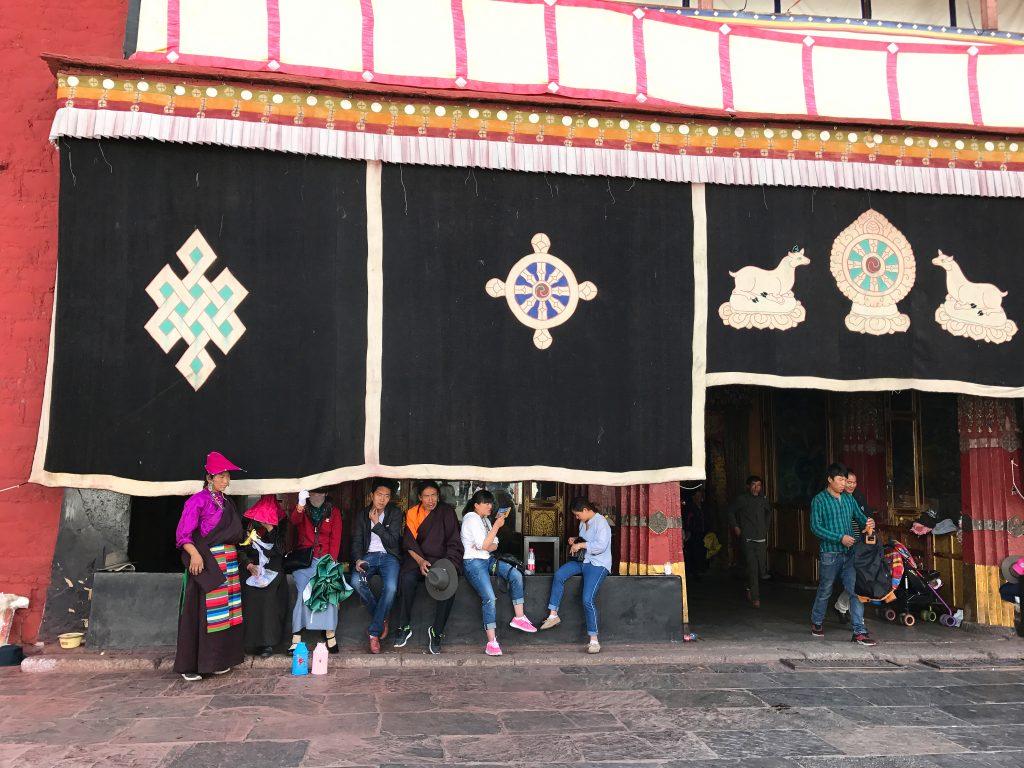 Entrance to Ramoche Temple