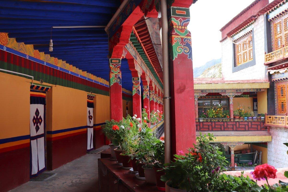 Negodong Nunnery near Lhasa