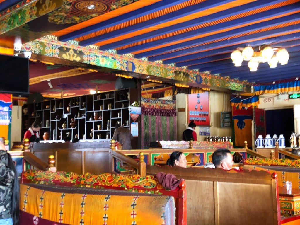 Tibetan restaurant in Shigatse