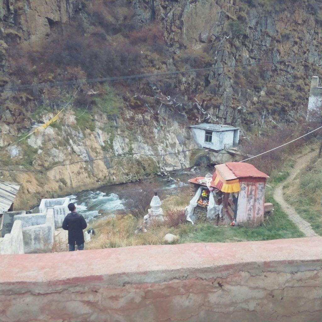 Tidrum hotsprings, Tibet