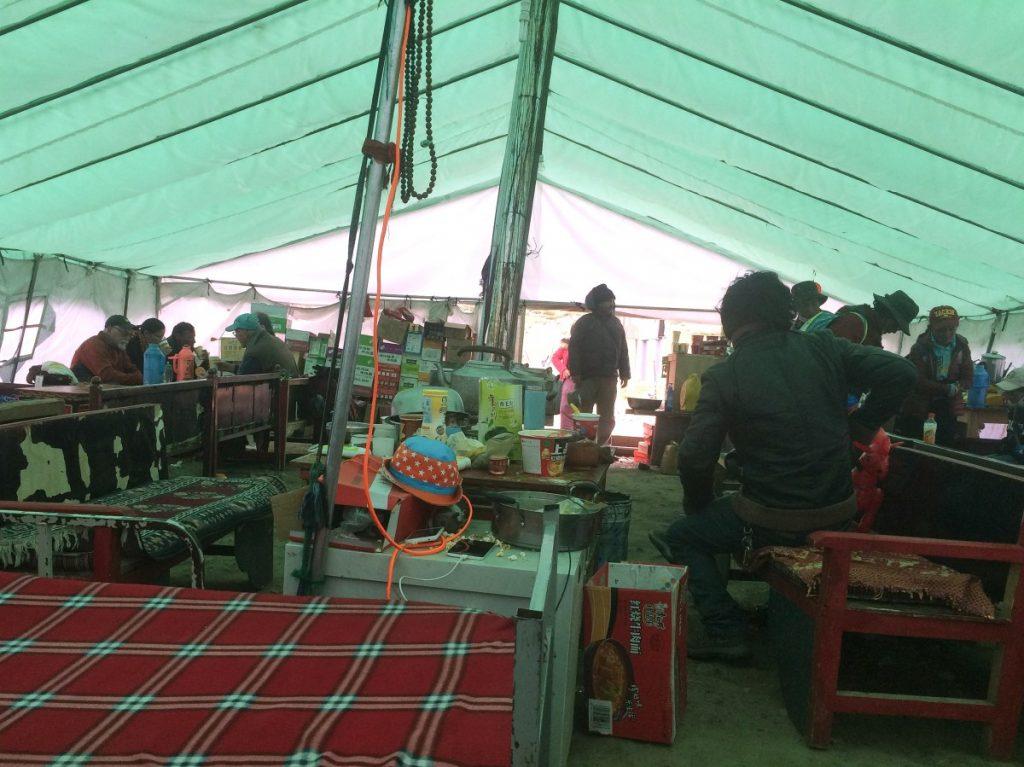 First teahouse on the kora around Kailash