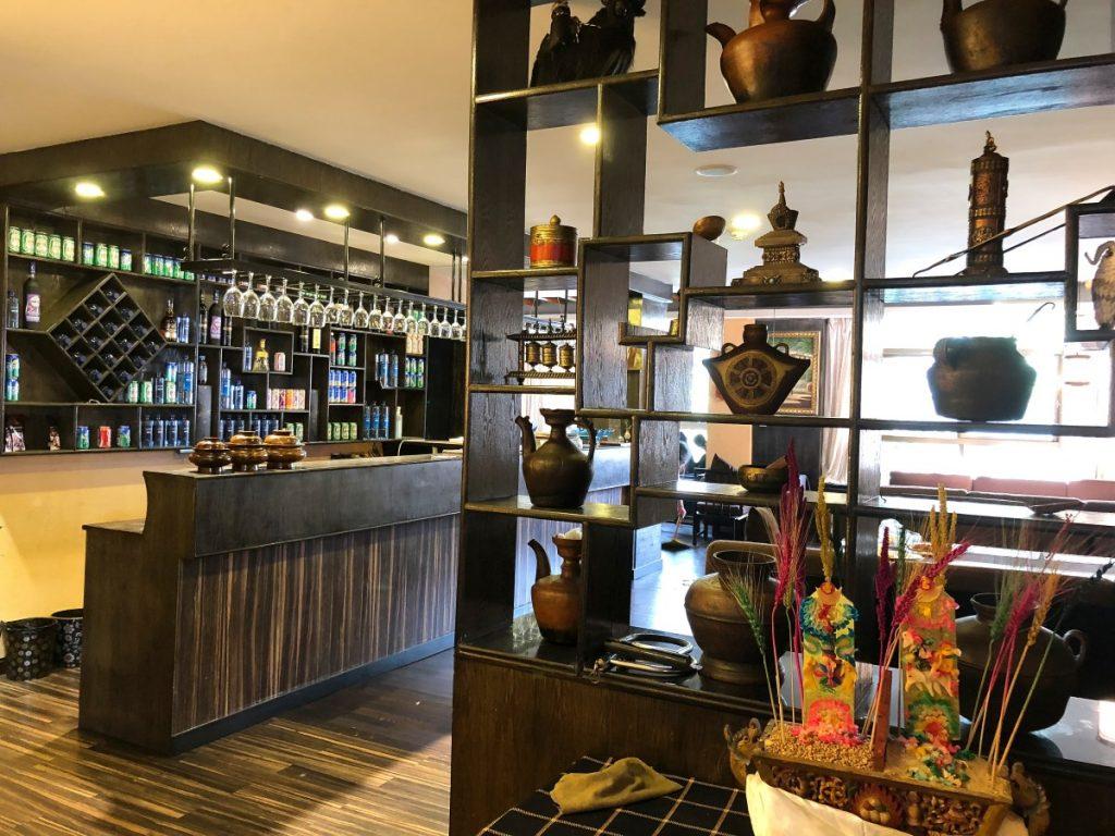 Lhasa kitchen restaurant inside