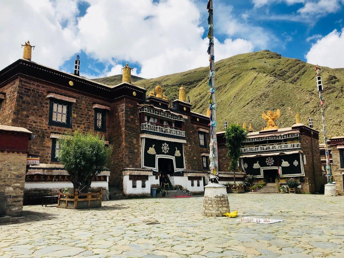 Mindrolling monastery, Tibet