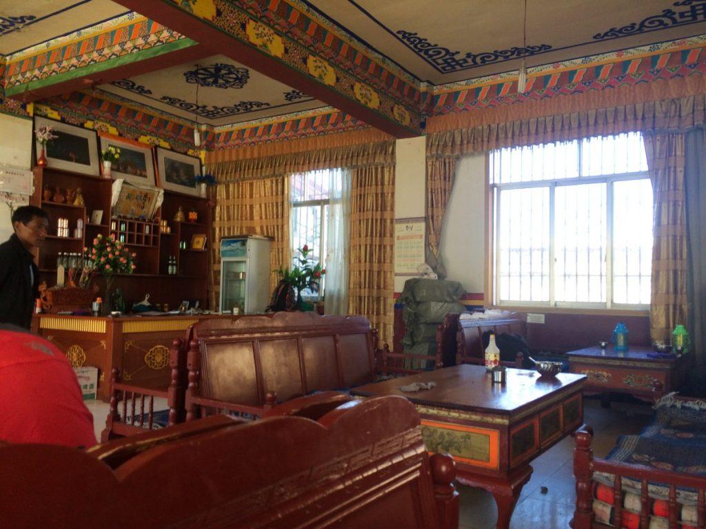 Samye Monastery hotel teahouse