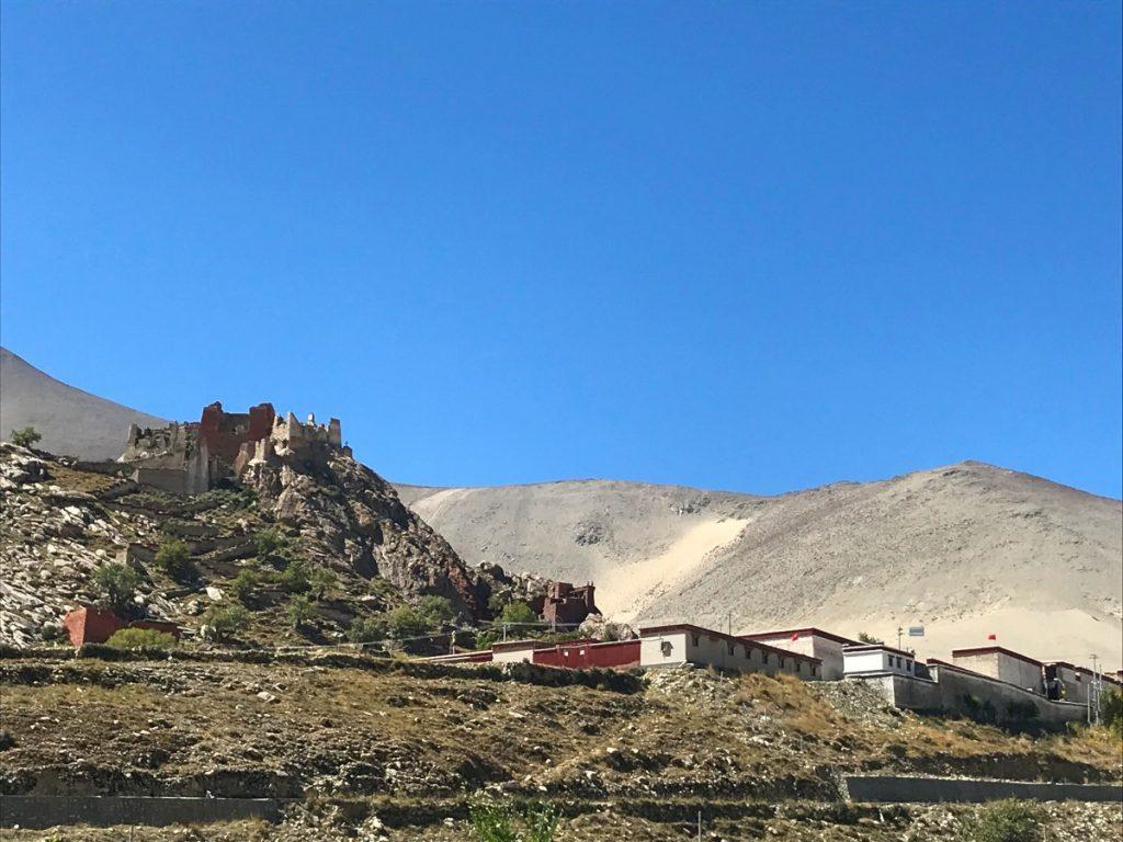 View on Phuntsok Ling, Tibet