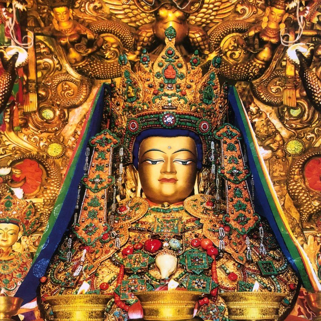 Jowo Shakyamuni Buddha statue in Jokhang Temple