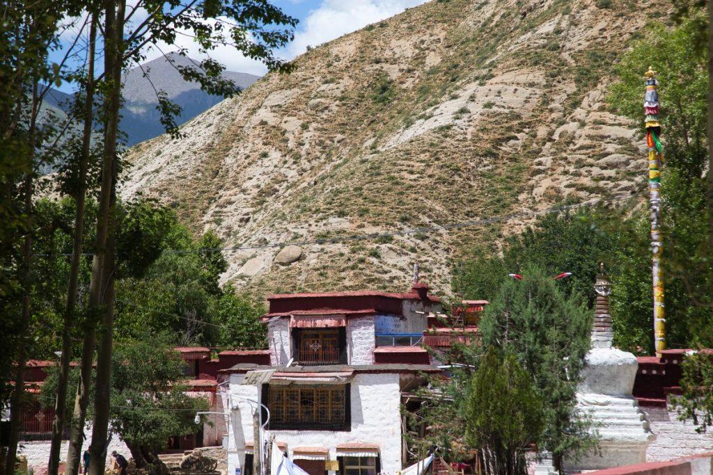 Visiting Chupsang Nunnery