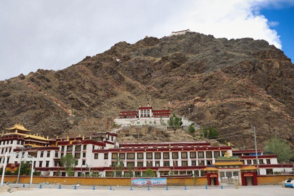 Dorje Drak monastery in Tibet