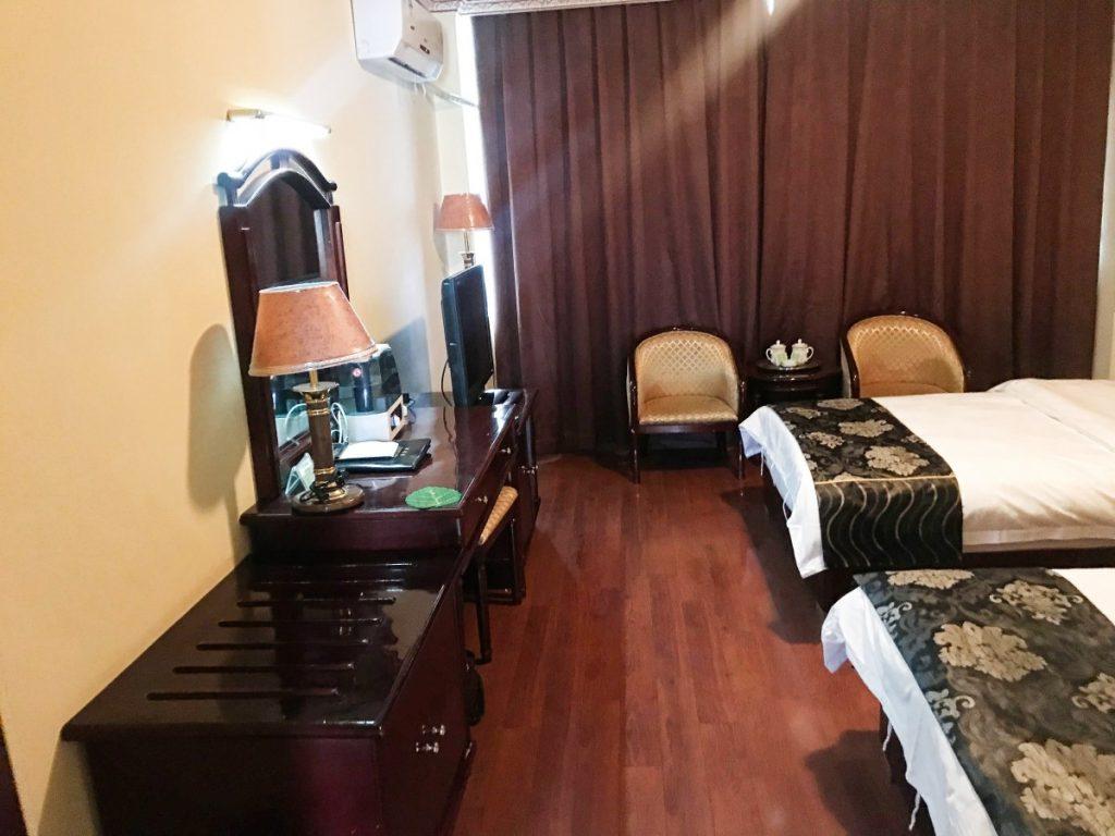 Room in Gyantse Yeti hotel, Tibet